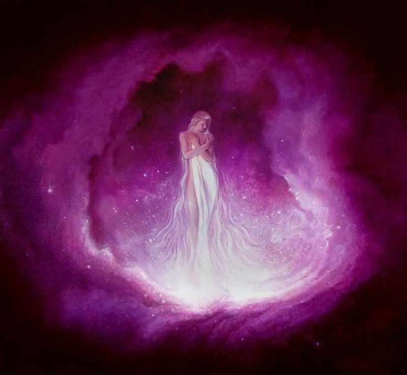 Что означает аура человека фиолетового цвета