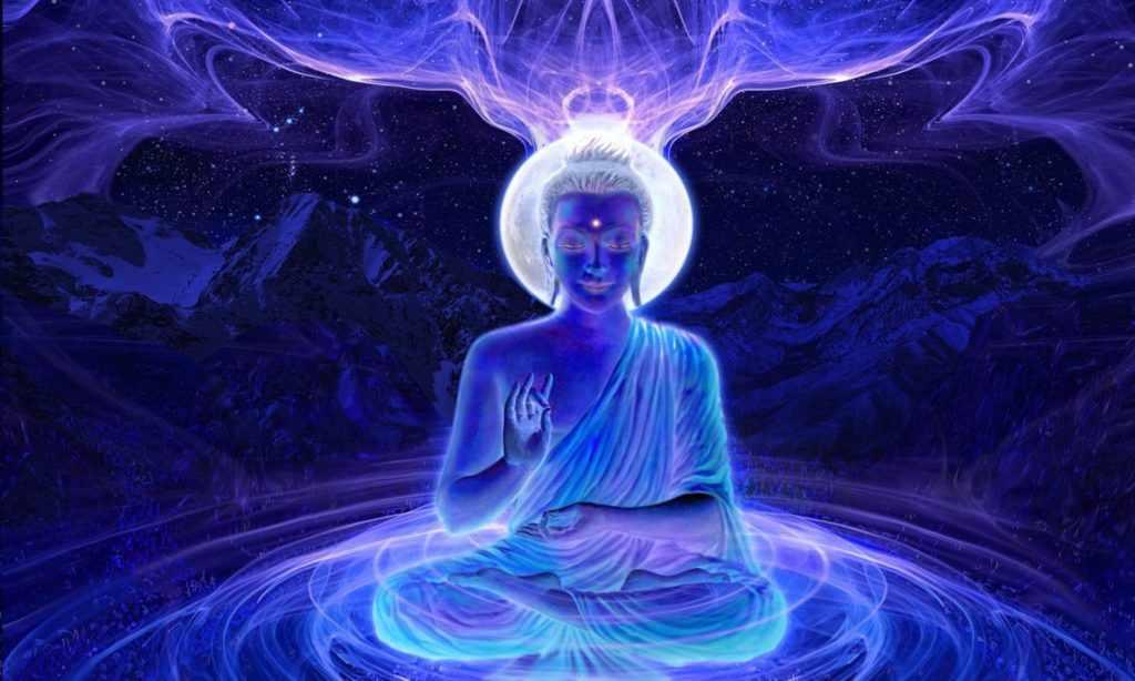 Что означает аура человека синего цвета