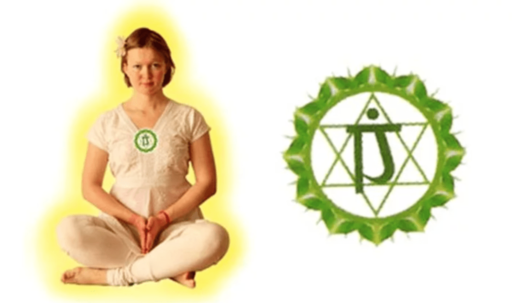 Как чакра анахаты проявляет себя в здоровом состоянии