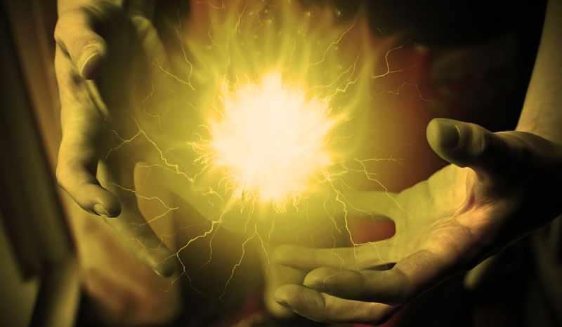 как создать энергетический шар