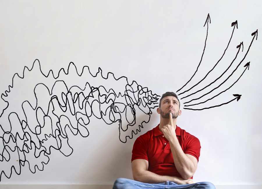 Не контролировать свои мысли