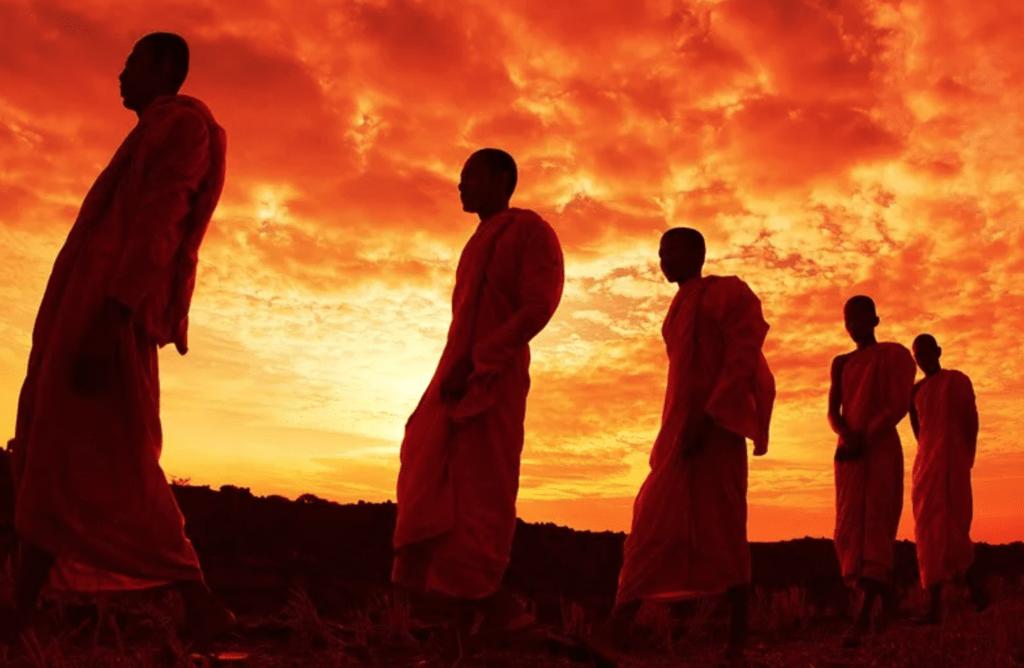 Мысли во время медитации при ходьбе