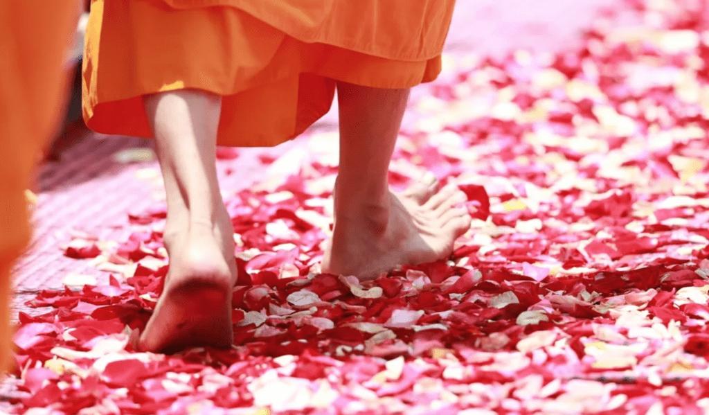 Суть медитации при ходьбе