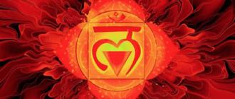 Все про первую чакру - муладхара (корневая чакра)
